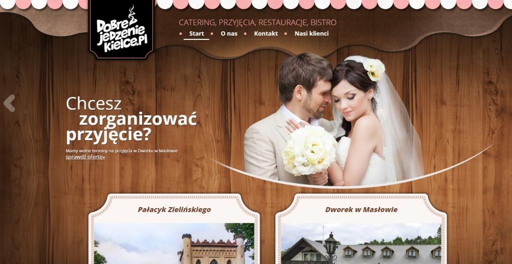 Dobrejedzeniekielce.pl Catering na ślub
