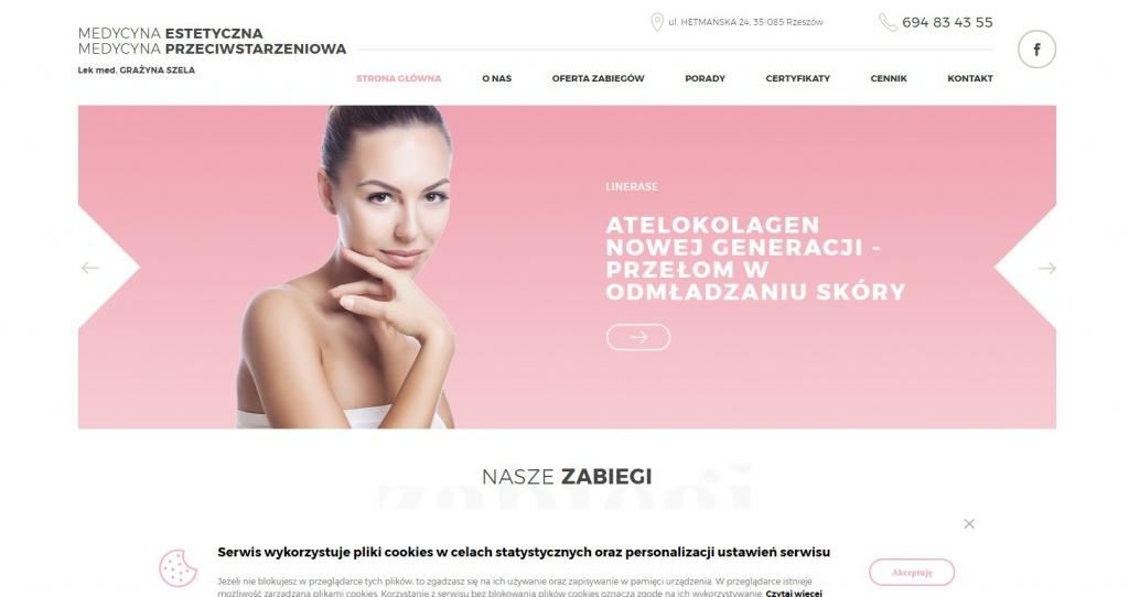 Gabinet medycyny estetycznej Grażyna Szela - Mezoterapia