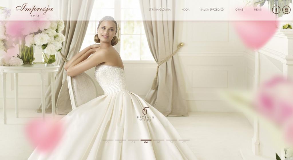 Impresja Salon mody ślubnej
