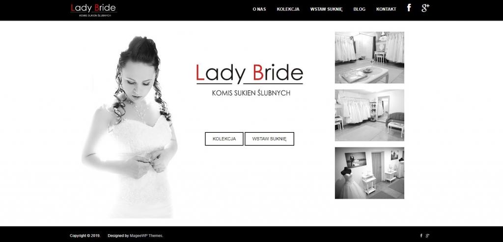 Lady Bride Komis sukień ślubnych