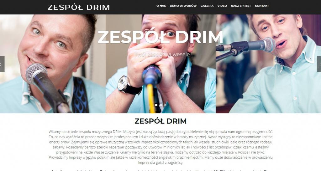 Muzyczny zespół Drim